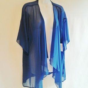 LuLaRoe Monroe Kimono with Fringe NEW